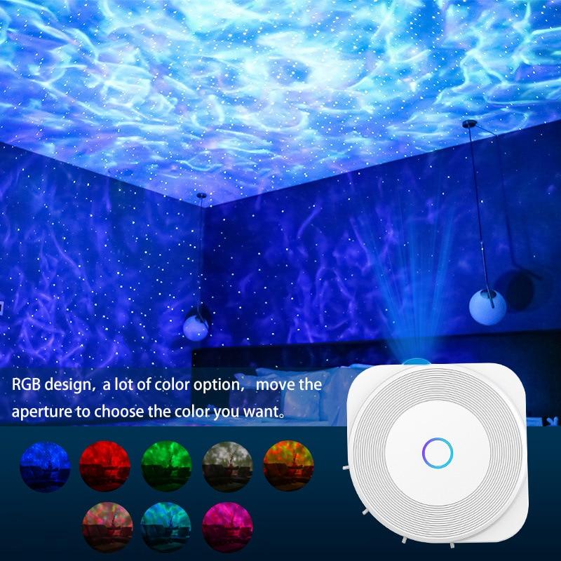 & google casa colorido céu estrelado galáxia projetor