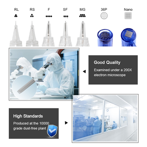 Image 5 - Biomaser 100Pcs Vite Cartucce Aghi di Trucco Permanente Macchina Professionale Aghi per Specificare Macchina 1R,2R,3RL,5RL 3RS