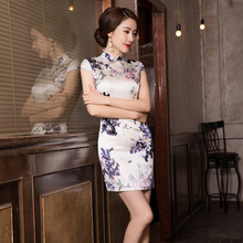 2019 Real Cheongsam Skirt Restoring Ancient Ways Is The New Fashion And Elegant Temperament Cultivate Morality Dress Wholesale