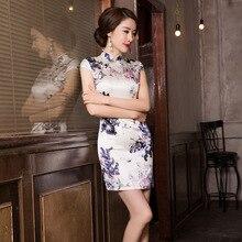 2019 prawdziwe Cheongsam spódnica przywracając dawne sposoby jest nowa moda i elegancki Temperament pielęgnować moralność sukienka hurtownie