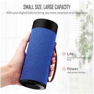 Image 2 - Finlemho T4 Wireless Speaker Bluetooth Stereo USB Outdoor Portable Loudspeaker AUX TF Input With Mobile Phone Multi Purposed
