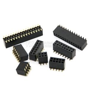 SMT 1,27 мм 1,27 двухрядный разъём для печатной платы, штыревой разъем для разъема 2*5 2*10 2*12 2*15 2*20 2*3-50P SMD