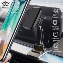 XMXCZKJ Magnetic Phone Holder For iPhone Car Dashboard Mount Mobile Phone Holder Universal Magnet Phone Holder Stand For Samsung magnet car mount holder stand bracket for mobile phone universal magnetic car phone holder magnetic dashboard phone holder stand