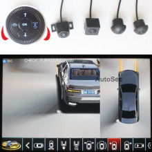 Car-Models Wheel-Path Panorama-View 3D 30 with Track-Guide-Line AVM Circle DVR Jog-Switch