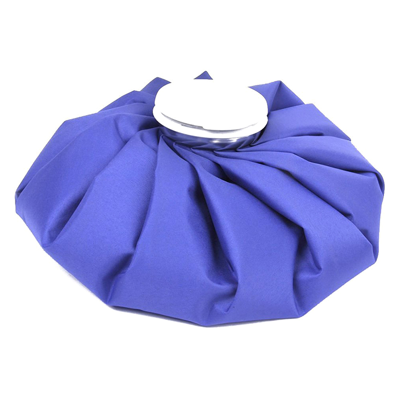 9 Inch Ice Bag Cold Pack For Sports Injuries Neck Knee Pain Relief (blue)