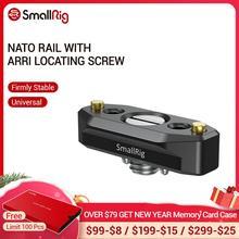 SmallRig riel NATO de liberación rápida, con tornillo de localización ANCI de 48mm, para soportes de accesorios ANCI 2521