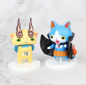 Image 3 - 8pcs/set Yokai Youkai Watch Action Figure Cartoon Toy 8cm PVC Model Doll Kids Gift