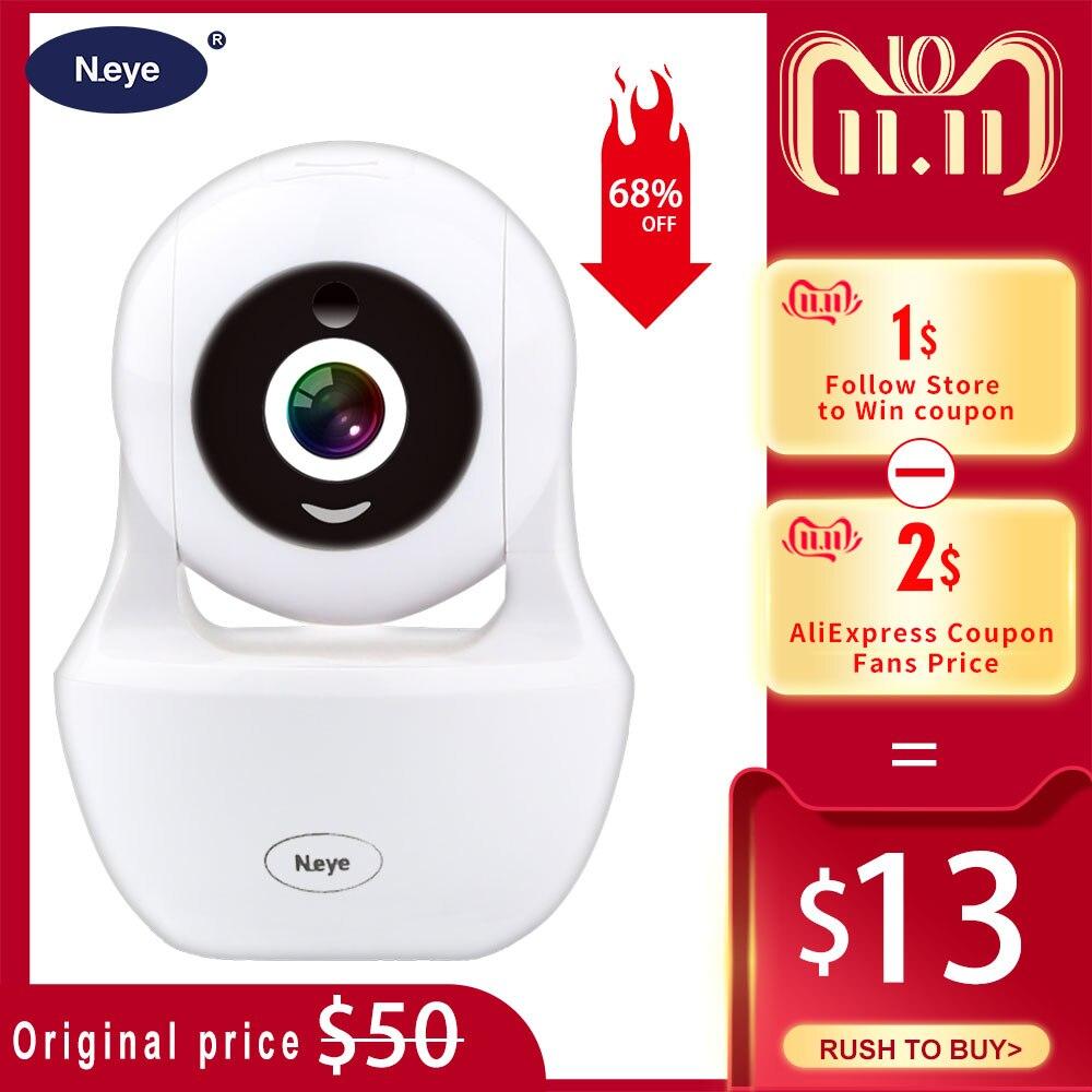 N_eye câmera ip hd 1080 p câmera de segurança em casa câmera wi-fi com visão noturna ir monitor de gravação de áudio câmera ip
