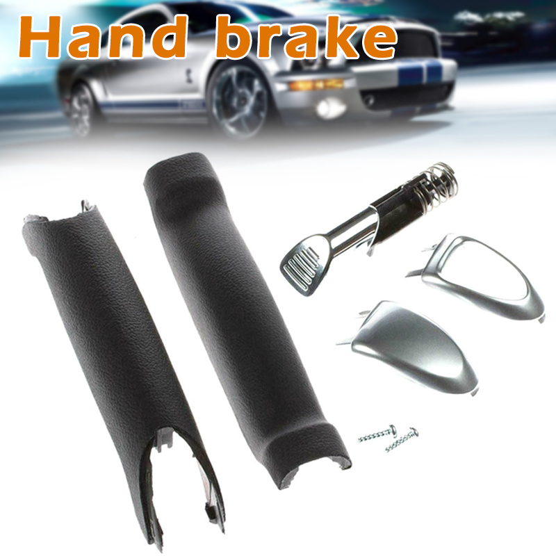 Handbrake Handle Repair Kit Soft Feel Parking Hand Brake Stop Handle For Ford Galaxy S-Max YAN88