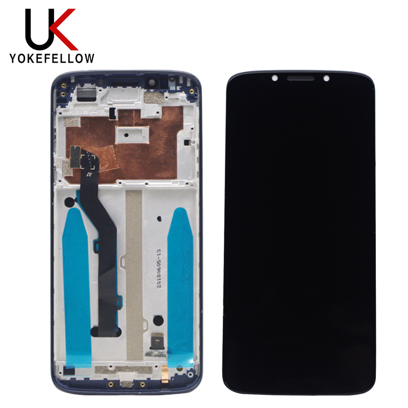 LCD Display For Motorola Moto G6 Play LCD Display Digitizer Touch Screen Replacement For Motorola Moto G6 Play LCD Black Gold