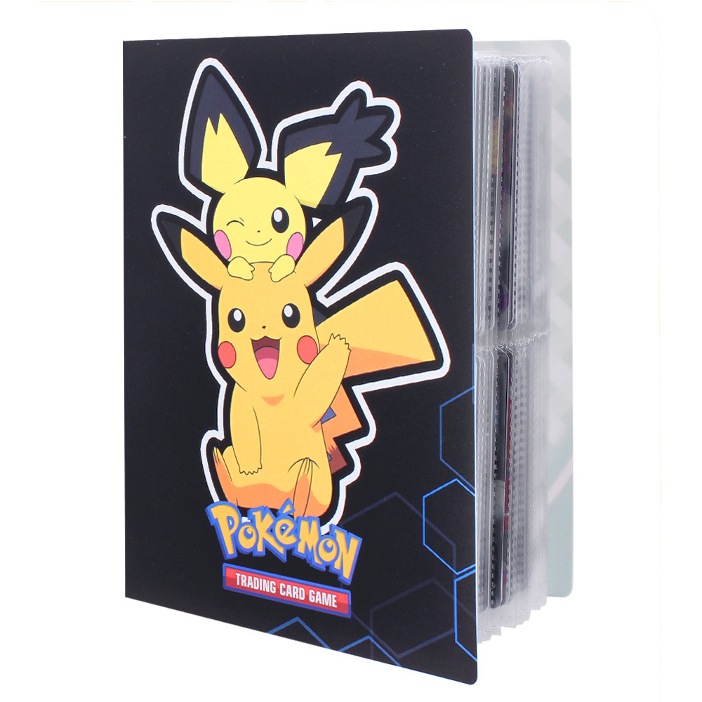 240Pcs Holder Album Toys Collections Pokemon Cards Album Book Top Loaded List Toys Gift for Children|Game Collection Cards| - AliExpress