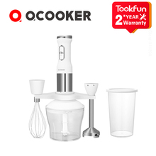 2020 NEW QCOOKER CD HB01 hand Blender Electric Kitchen Portable Food Processor mixer juicer Multi function Quick Cooking