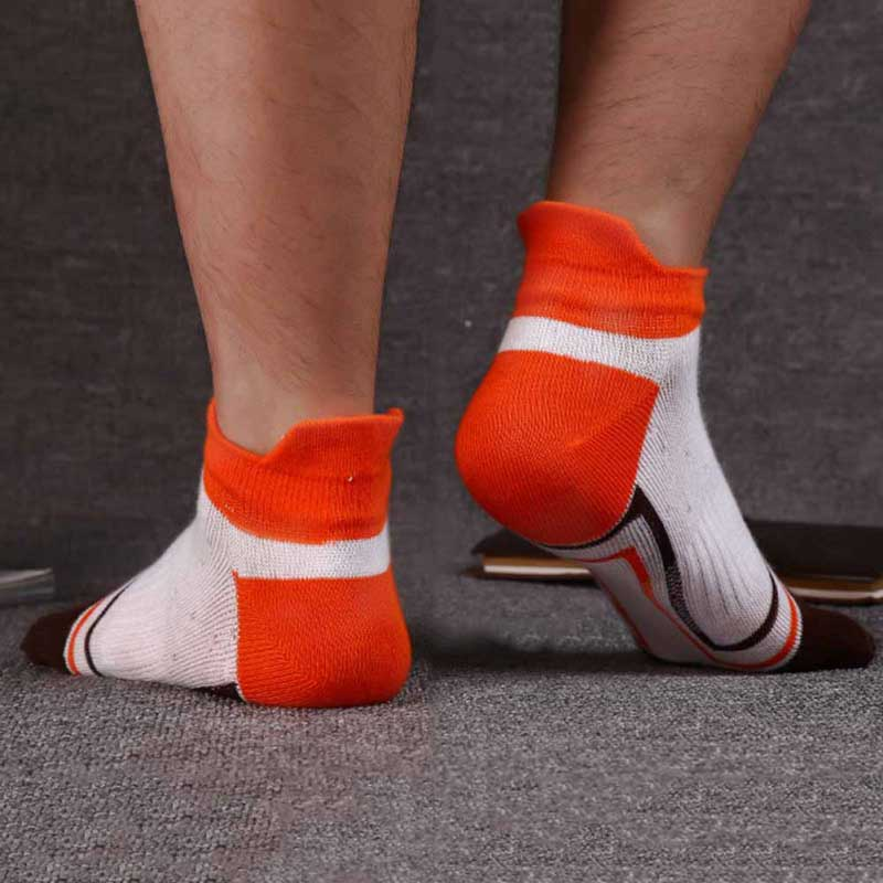 New 1 Pair 39-43 Toe Socks Lady Men Finger-separated Odor Resistant Cotton Polyester Spandex Ankle Hosiery