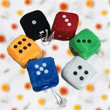Rear-View-Mirror Dice JDM Charm Hanging-Pendant Car Home-Decoration Colorful Desk Throwing