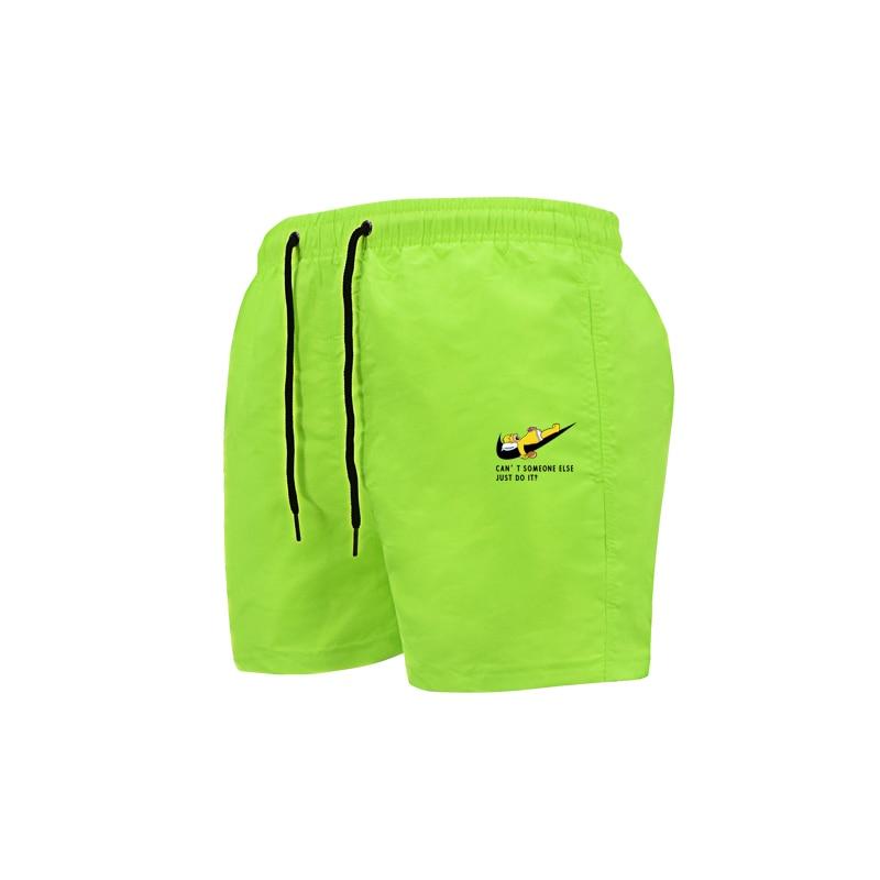 2020 Men's Sport Running Beach Short Board Pants New Swim Trunk Pants Quick-drying Movement Surfing Shorts GYM Swimwear For Male
