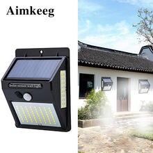 100led Солнечный настенный светильник датчик Авто motion водостойкий