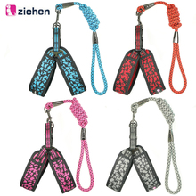 Get more info on the Zichen Dog Harness Leash Set Dog Leash Breathable Mesh Reflective Nylon Plus Soft Material For Dog Harness Leash Chain S-XL