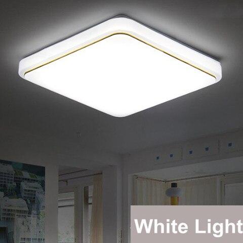 led luz de teto moderno acrilico praca