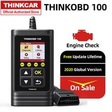 Obd2 thinkcar thinkobd 100 obdii ferramenta de diagnóstico obd 2 ferramenta de verificação automática diagnóstico automotivo pk elm327 cr3001 ad310