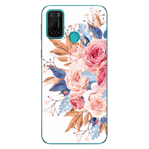 Image 5 - Phone Bags & Case For Vsmart Joy 4 2020 6.53 Inch Cover Soft Silicone Fashion Marble Inkjet Painted Shell Capa