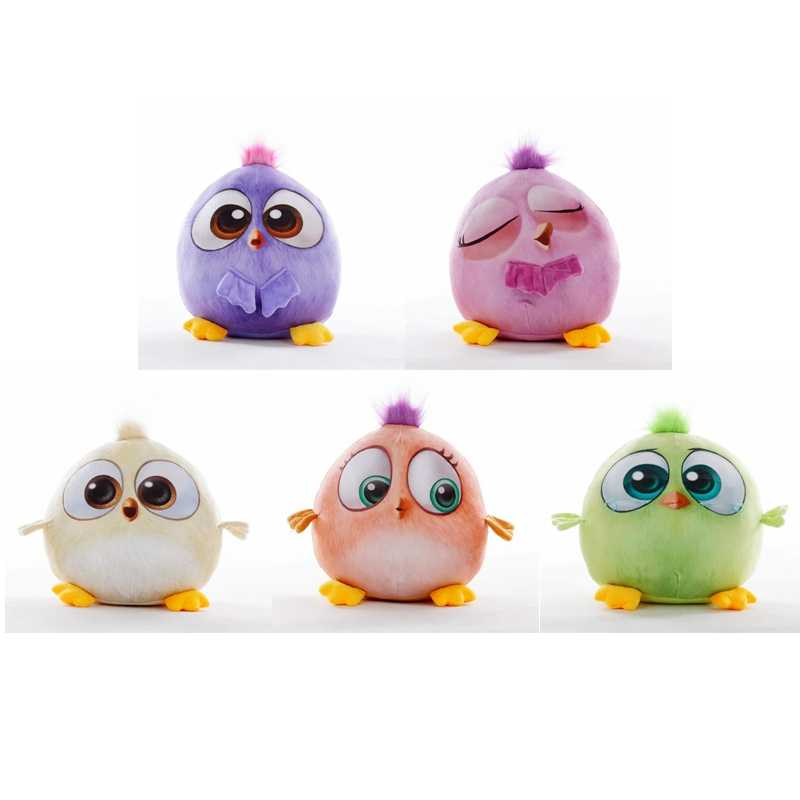 13cm / 30cm / 50cm cute angry bird filled plush doll pillow 3D cartoon animal children's toy holiday gift