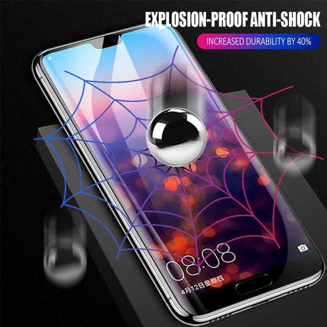 2Pcs Voor Huawei Nova 5 T 5z 5 5i Pro 4 4e 3 3i 3e Hydrogel Film Telefoon Screen protector Soft Volledige Cover Beschermende Film Niet Glas