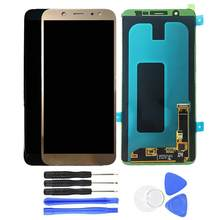 LCD Display Touch Screen Digitizer for Sam-sung Galaxy A6 Plus 2018 SM-A605F(China)