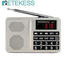 Retekess tr603 am fm радио коротковолновый транзистор цифровой