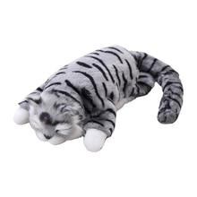 Stuffed Plush with Sound Tumbling Simulation Animal Doll Child Birthday Gift Q6PD