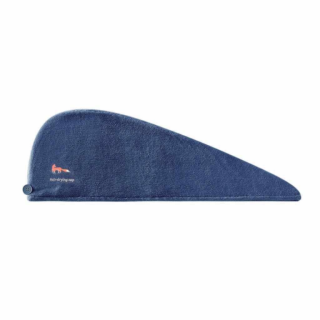 サンゴのベルベットのマジックヘア乾燥タオル帽子マイクロファイバー速乾ターバンため吸収シャワープール洗濯機キャップ 19NOV27