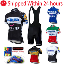 Cycling Jersey Short Bicycle-Wear Maillot Culotte Pro-Team Quick-Step Ciclism Ropa Men