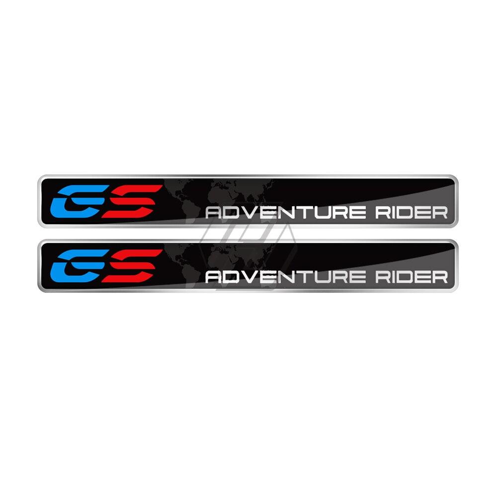 3D Resin ADV Adventure Rider GS Sticker Case For BMW F800GS F700GS R1200GS R1250GS Adventure
