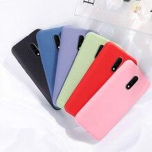 Luxury Soft Liquid Silicone Case For Oneplus 6 6T 7 Pro 5 5T Cover Oneplus7 Oneplus7pro One Plus Phone Cases