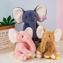 New Style Cute Elephant Plush Toy Stuffed Animal Doll Soft Pillow Children Girls Ragdoll Gift
