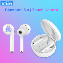 Wireless Earphones Headphones Bluetooth 5.0 TWS Stereo Sound Bass Earbuds Hands free Phone Call Noise Reduction Sports Headset newest tws invisible bluetooth earphone 3d stereo hands free noise reduction sports mini bluetooth headset wireless headphones