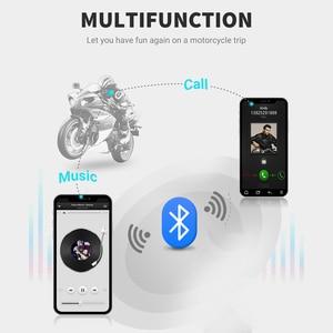 Image 3 - T22 Bluetooth 5.0 Motor Helmet Intercom Headset Wireless Handsfree Stereo Earphone Motorcycle Helmet Headphones MP3 Speaker