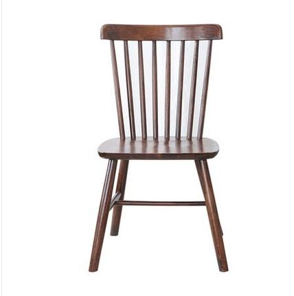 Nordic Solid Wood Dining Chair Windsor Chair Dining Chair Leisure Cafe All Solid Wood Chair Stool Chair Modern Minimalist