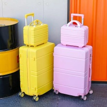 Trolley Luggage Suitcase-Set Cabin Travel Carry Women 20inch with Bag Big-Bag Ons 28''