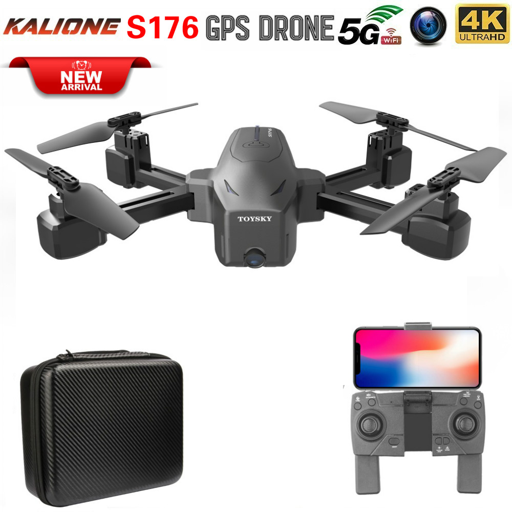S176 5G WIFI quadcopter drone 4K GPS profissional drones with camera hd quadrocopter Follow remote control helicopter vs SG907 image
