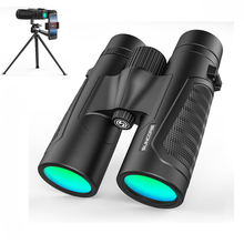 12x42 High Powerful Binoculars BAK4 Prism Zoom Telescope Wide angle night vision Military HD Professional Hunting Binocular цена и фото