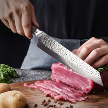 Chef-Knife Salmon Meat-Cleaver Forged Japanese Kitchen 9inch Vegetable-Cutting Stainless-Steel