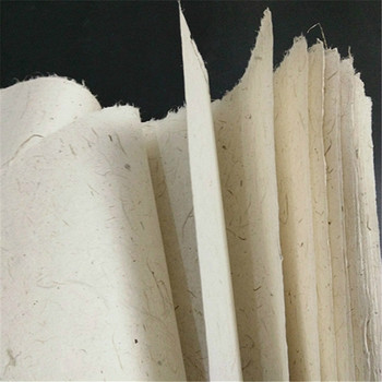 Handmade Half Ripe Fiber Rice Paper Yunlong Fiber Paper Papel Arroz 10sheets Chinese Painting Calligraphy Special Xuan Paper calligraphy paper papel arroz rolling half ripe xuan paper chinese yellow ultra thin rice paper chinese painting rijstpapier