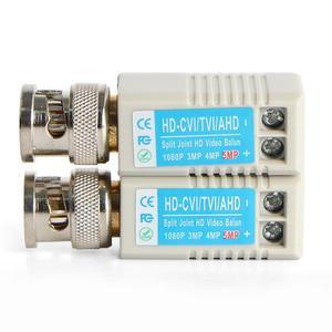Image 4 - 10Pairs Twisted BNC CCTV Video Balun Passive Transceiver Cat5 CCTV UTP 200M Range For HD 720P HDCVI/AHD/HDTVI Camera