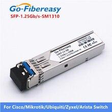 Módulo transceptor óptico SFP 1000Base LX SMF 1.25Gbs 1310nm 20km LC SFP equipo de fibra óptica transceptor módulos SFP
