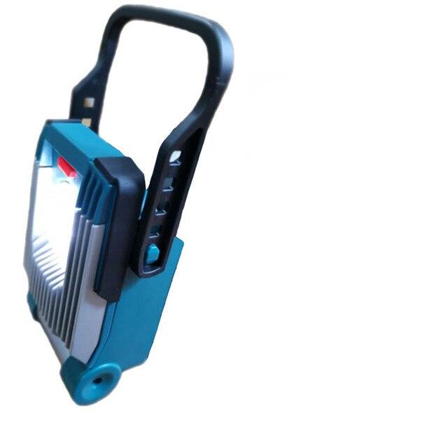 Wysokiej jakości doprowadziły lampy sufitowe do obsługi DeWalt dla Makita dla Bosch dla Milwaukee 18V 20V akumulator litowo-jonowy dostaw lampa robocza Led lampa popularne