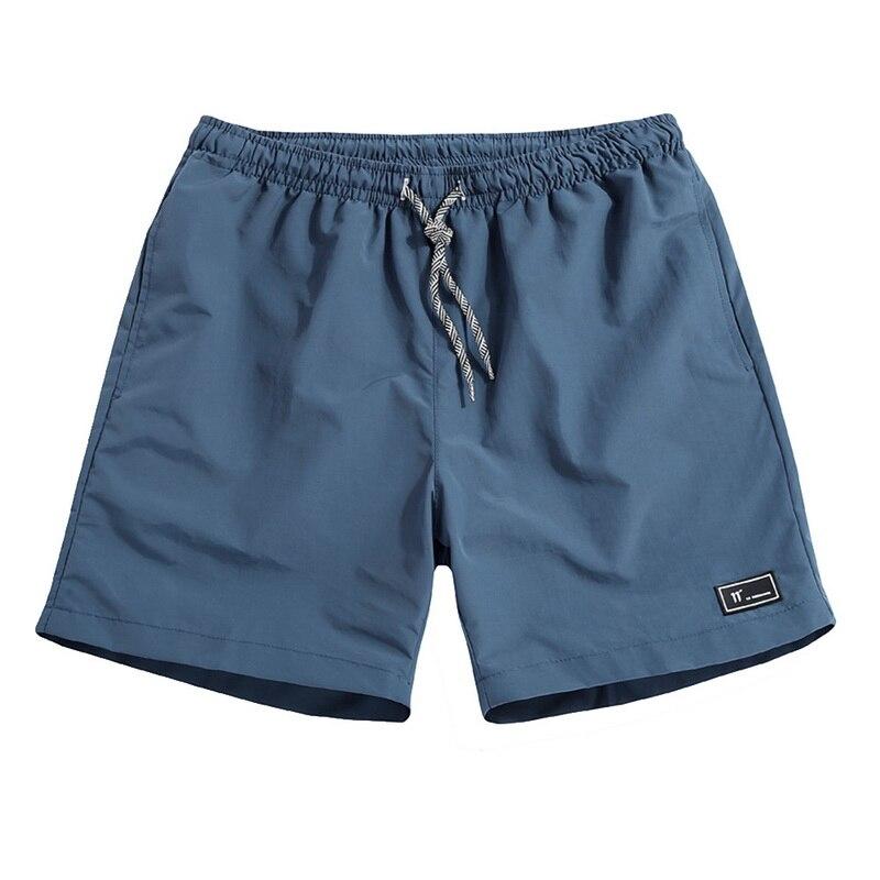 CYSINCOS Casual Shorts Men Summer Jogger Board Short Bottoms Mens Breathable Elastic Waist  Plus Size Beach Shorts