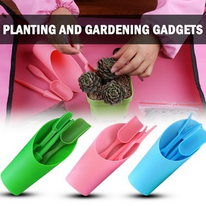 Garden Planter Kit DIY Sowing Succulents Transplant Seedling Device Planters Garden Nursery Trays Device Planters Digging Tool