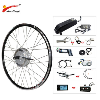 BAFANG-rueda frontal de motor, Kit de conversión de bicicleta eléctrica con batería,...