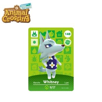 148 Whitney Top Ten Most Popular Villagers In Animal Crossing New Horizons Amiibo Card Animal Crossing Card Series 2 Whitney куртка джинсовая whitney whitney mp002xw12bdi