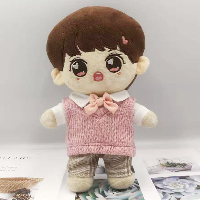 [MYKPOP]KPOP Doll's Clothes & Accessories- 4pcs Set For 20cm Dolls(without Doll) KPOP Fans Collection SA19122906